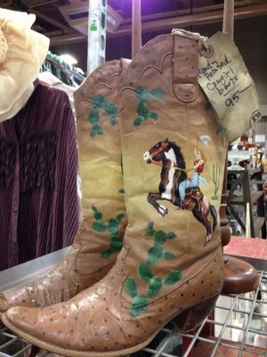 Cowboy boots have a good ROI.